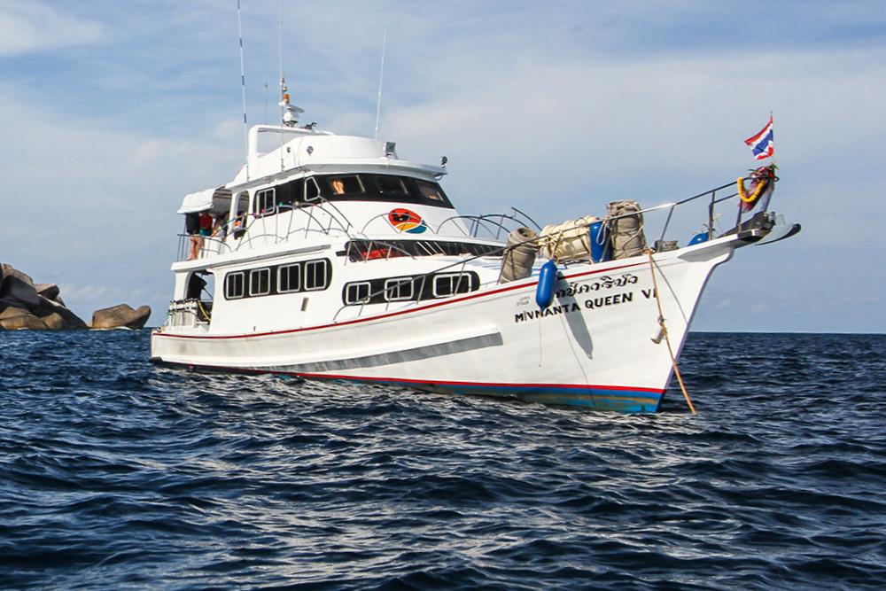 Manta Queen,MV Manta Queen, MV Manta Queen 6,Manta Queen 6,khaolakscubaadventures