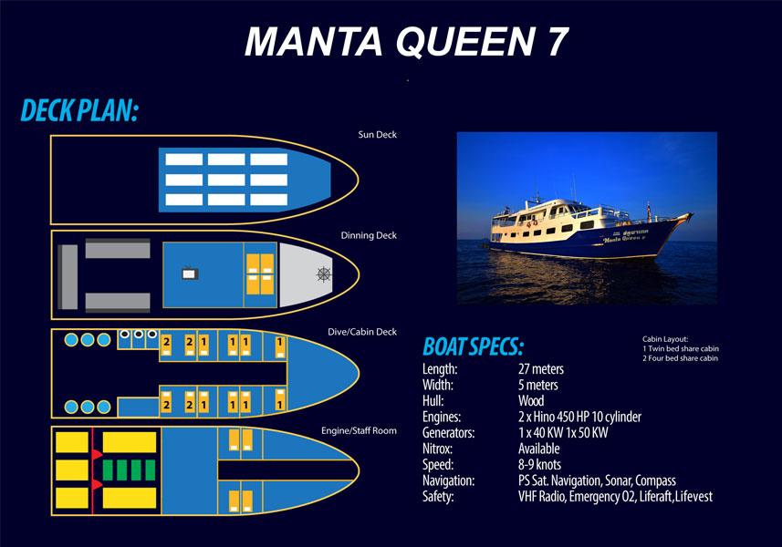 Manta Queen,MV Manta Queen, MV Manta Queen 7,Manta Queen 7,khaolakscubaadventures